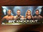 2017 UFC TOPPS KNOCKOUT HOBBY FACTORY SEALED MASTER BOX HOT HARD TO FIND
