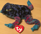 Ty Beanie Babies 2000 Dart the Frog With Mint Tags and Error