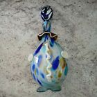HUGE Vintage Murano Glass Clown Decanter With Stopper Head heavy hand made italy