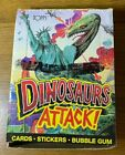 1988 Topps Dinosaurs Attack Wax Box 48 Factory Sealed Packs