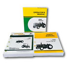 SERVICE PARTS OPERATORS MANUAL SET FOR JOHN DEERE 2240 TRACTOR OWNERS 350000UP