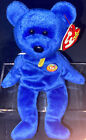Clubby The Bear TY Beanie Baby #02 Retired Members Only Bear Pristine Condition