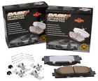 Disc Brake Pad Set Premium Ceramic Pads FrontRear Dash 4 Brake CFD154