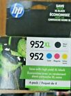 HP 952XL 952 N9K28ANInk Cartridge Combo Pack NEW EXP 08 22 FREE SHIPPING