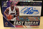 2018-19 Optic Alonzo Mourning FAST BREAK Auto Disco Autograph Parallel #FB-AMG