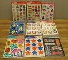 Lot of Vintage 1980s SCHOOL TIME Stickers CARLTON AMERICAN GREETINGS DBGC NEW