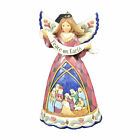 Jim Shore Nativity Angel Banner Ornament Polyresin Heartwood Creek 6006682