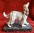 RARE !! 1982 Retired LLADRO PORCELAIN #1282 AFGHAN HOUND DOG - Perfect condition