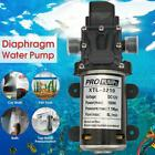 100W Electric Diaphragm Water Pump Priming High Pressure DC12V 70PSI 8L Min Set