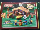 Fisher Price Little People Christmas Story Nativity lights and sounds box damage