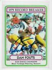 Dan Fouts Cards, Rookie Card and Autographed Memorabilia Guide 20
