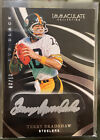 2020 Panini Immaculate Eye Black Terry Bradshaw On Card Autograph #08 10