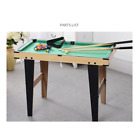 32 Portable Billiards Table Game Pool Table for Kids Adults w Cues