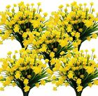 Artificial Flowers Outdoor UV Resistant Fake Plants Indoor Outside Hanging