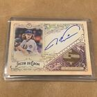 2017 Gypsy Queen #d 50 Jacob DeGrom Auto Relic Ssp. On Card Auto & Camo Patch!