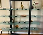STEUBEN Hand Coolers Multiple Pieces Very Rare Mint Marble Display Stand Signed