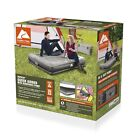 Ozark Trail Tritech Air Mattress Queen 14 with In  Out Pump and Antimicrobial