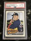 2014 Topps Heritage GEORGE SPRINGER #GS Real One Auto Autograph PSA 10
