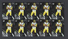 (10) 1999 Collectors Edge Masters Silver Preview Kurt Warner RC Rookie Card Lot