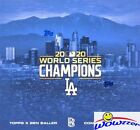2020 Topps x Ben Baller Los Angeles Dodgers World Series Champions Cards 27