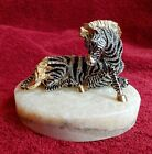 Jay Strongwater Laying ZEBRA Figurine Limited Edition 116/300 Excellent MINT!