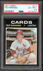1971 Topps #117 TED SIMMONS ROOKIE St. Louis Cardinals HOF PSA 6.5 (looks8)