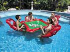 Inflatable Poker Game Floating Table for Swimming Pool Party Play Cards Games
