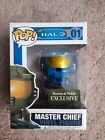 Master Chief Blue Funko POP! #01 from Halo Barnes and Noble Exclusive-Vaulted