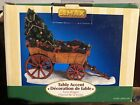 Lemax Village Collection Table Accents ~ Farm Wagon Christmas Tree ~ 2005 Box