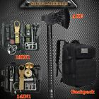 Tactical Backpack Survival Gear Kit Camping Axe Emergency Outdoor EDC Tools