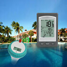 Wireless Remote Floating Swimming Pool Thermometer LED Digital Water Temperature