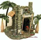 FONTANINI ITALY 5 MEMBERS ONLY BLACKSMITH STABLE NATIVITY VILLAGE 97059 GC