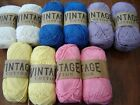 super Soft 100 cotton double knitting yarn love colours 10 x 100g LOOK