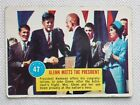 JFK Kennedy JOHN GLENN 1963 TOPPS POPSICLE SPACE ASTRONAUTS MEETS THE PRESIDENT