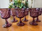Six Perspective Plum by Noritake Port Wine Goblets Cordials 4 7 8 1969 1980
