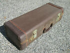 VINTAGE 40s 50s Funky Player Jazz Trumpet SEMI GATOR CASE  Cool Style