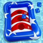 Inflatable Pool Ring Toss Games Kids Adult Outdoor Activity 36 Inches