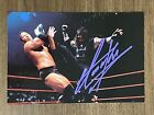 1999 Comic Images THE UNDERTAKER signed WWF Wrestlemania Live Auto Autograph JSA