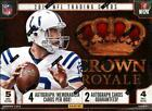 2013 Panini Crown Royale Football Hobby Box - Factory Sealed!