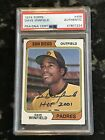 1974 Topps DAVE WINFIELD #456 RC Rookie HOF Auto Autograph PSA DNA