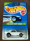 1995 Hot Wheels TREASURE Hunt 67 CAMARO Great Card but Cracked Blister