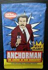 SEALED Anchorman Trading Cards Pack 2010, Ron Burgundy, Will Ferrell