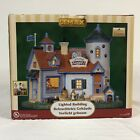 Lemax Harvest Crossing Happy Hounds Doggie Day Care Light-Up Village Building