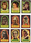 1977 TOPPS STAR WARS FOX FILMS SERIES 1-5 COMPLETE 55 CARD STICKERS COMPLETE SET