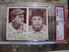JIMMY FOXX JOE CRONIN HOF 1941 DOUBLE PLAY #59&60 GRADED BY PSA VG+ 3.5!!!!