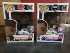 Funko Pop! NFL Deion Sanders #93 an Lawrence Taylor #79 LOT TOYS R US Exclusive