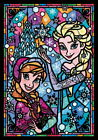 Ten Dsg266 753 Disney Announcer Elsa Stained Glass Frozen 266 Pieces Art Jigsaw