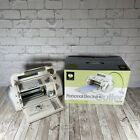 CRICUT Personal Electronic Cutter CRV001 + Power Cable  Cartridge In Box Tested