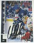 WENDEL CLARK SIGNED UPPER DECK TORONTO MAPLE LEAFS CARD AUTOGRAPH AUTO!