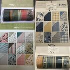 last One4 My Minds Eye GINGHAM FOUNDRY  WILD ASPARAGUS 6x8 paper pads  Washi